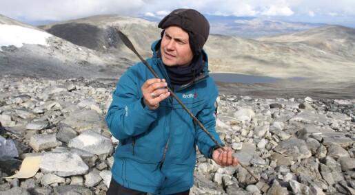 Funn fra 1400 år gammel is overrasker forskerne