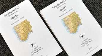 Nye geologikart over Oslo og Asker