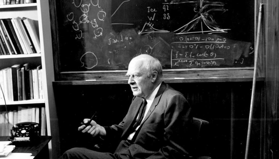 Lars Onsager var utdannet ved NTH, dagens NTNU, og fikk Nobelprisen i kjemi. (Foto: Yale Picture Collection)