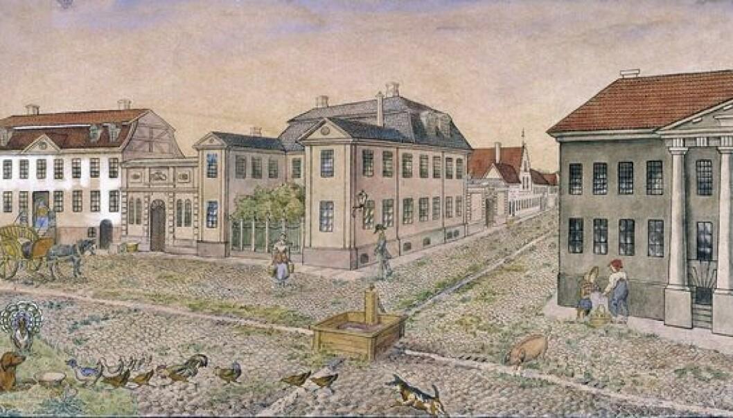 Oslo havn 1798 - Hva lå i gatene?