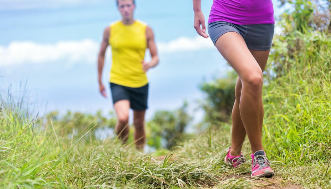 Slik bestemmer hjernen om du skal gå eller løpe