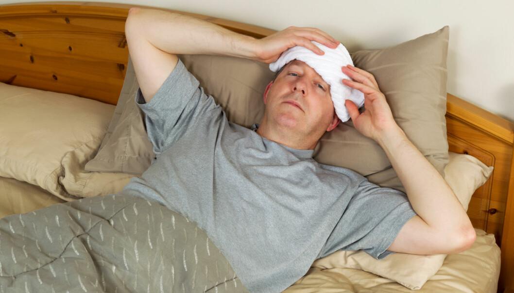 Noen virus liker ikke de høye temperaturene ved feber. Det gjør ikke den som er syk heller. (Foto: www.colourbox.no)