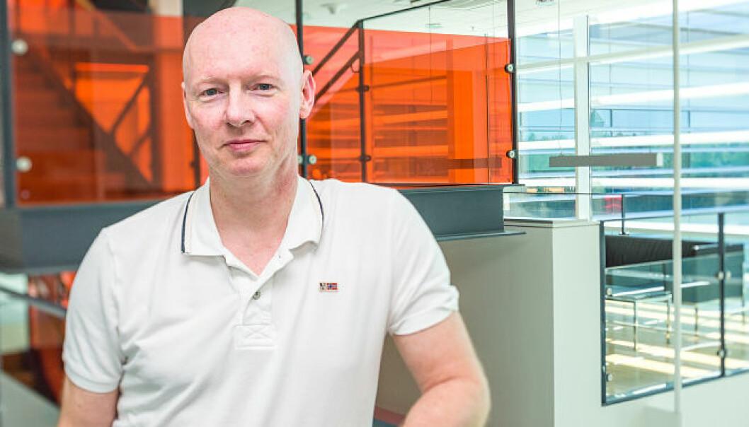 En samlet komité innstilte professor Stenmark til Forskningsprisen for fremragende innsats innen kreftforskning. (Foto: Øystein Horgmo, UiO)