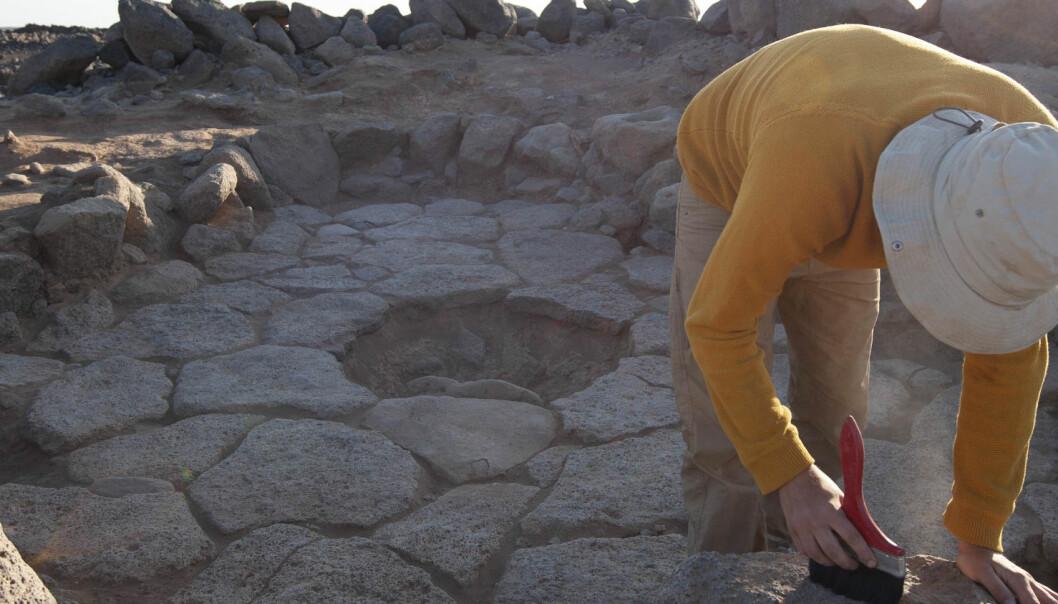 Arkeologer fant forkullet flatbrød fra lenge før jordbruksrevolusjonen