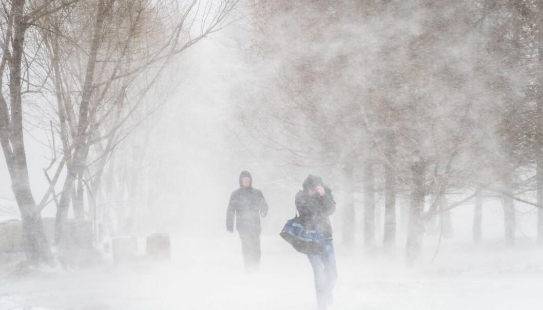 Du holder ikke mer på varmen ved å ha på deg lag på lag med tykke klær, ifølge forsker. (Illustrasjonsfoto: Shutterstock / NTB Scanpix)