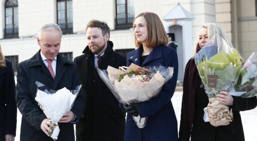 Iselin Nybø (V) er Norges nye forskningsminister