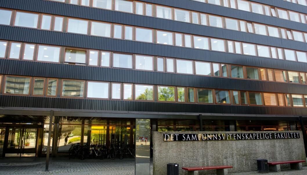 Norske studenter, blant annet de som går på Universitetet i Oslo (bildet), er uvanlig avhengige av deltidsjobb. (Foto: Jon Olav Nesvold / NTB scanpix)