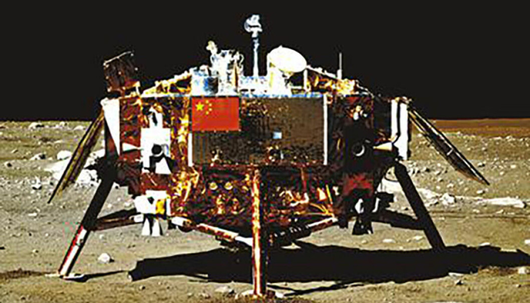 Kinas Chang`e 4 skal lande på Månens bakside