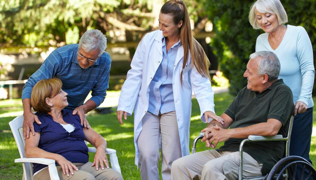 - Tilbud med mål om læring og mestring, er ikke bare god helseøkonomi, deltakelse er også svært nyttig for den enkelte som deltar, skriver forskerne.  (Illustrasjonsfoto: Shutterstock / NTB scanpix)