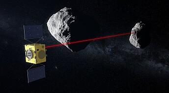 Skal teste forsvar mot asteroider