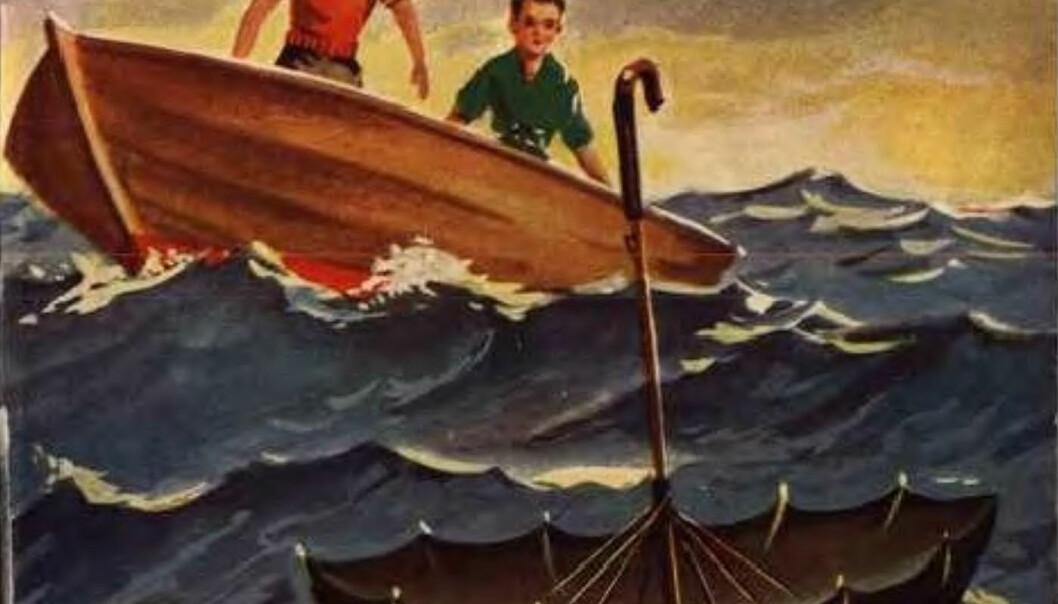 Illustrasjonsbilde fra boken Kongsgårdgutten, skrevet av barnebokforfatter Dikken Zwilgmeyer. Barna i norske barnebøker er ofte selvstendige og kompetente, forteller forsker. (Foto: Wikimedia commons / offentlig domene)