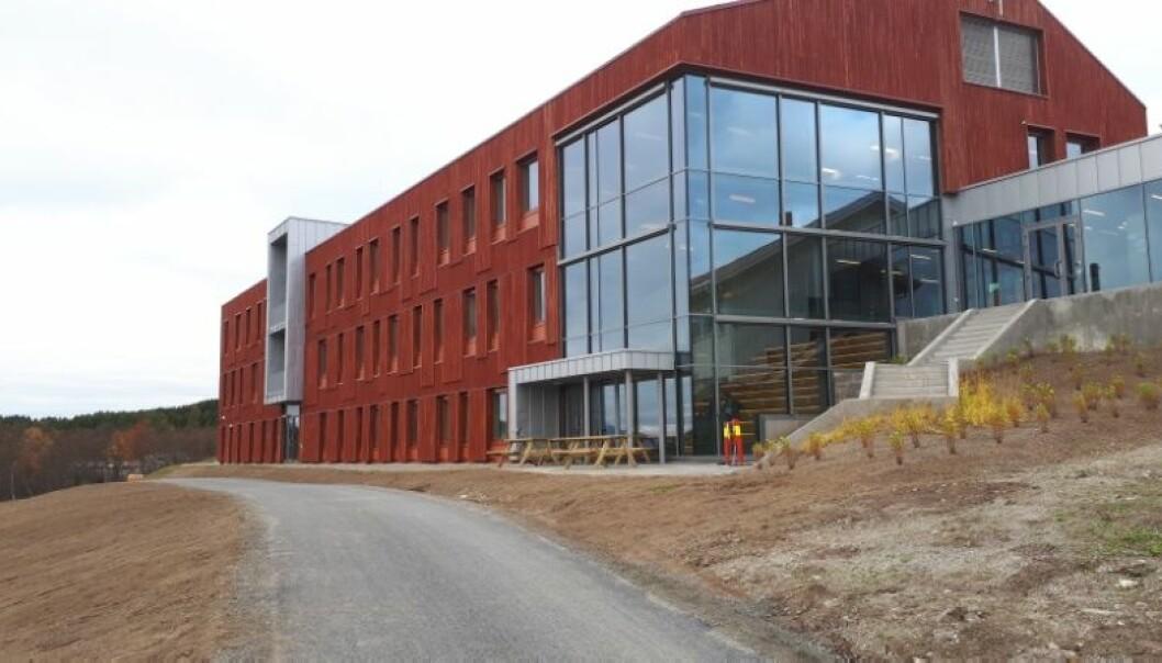 Det nye biologibygget på UiT ble offisielt åpnet fredag 12.januar 2018. (Foto: Harald Grape)