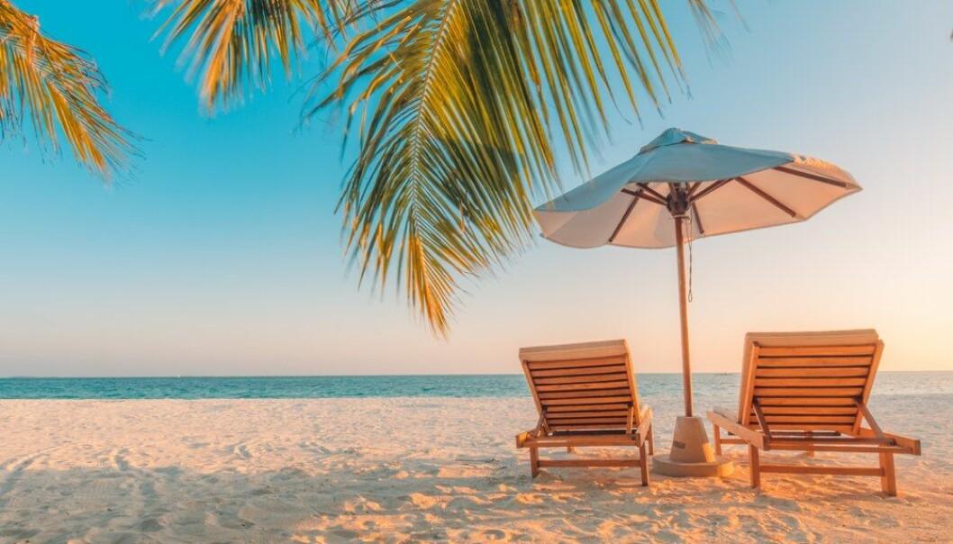 Norge er landet i verden der lønnstagere har minst uttrykt behov for ferie. Vi tar likevel ferie med bedre samvittighet enn andre. Og med full velsignelse fra arbeidsgiver. (Foto:  icemanphotos / Shutterstock / NTB scanpix)