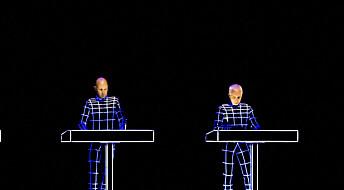 Kraftwerk spilte duett med tysk astronaut