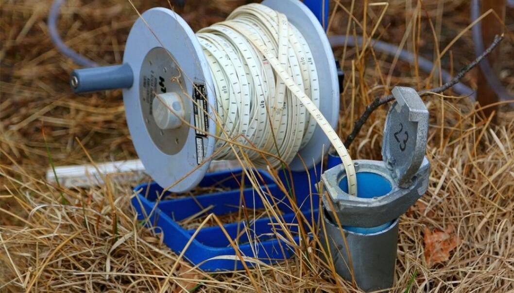 Grunnvannstanden er svært lav over store deler av landet. (Foto: Creative Commons CC)