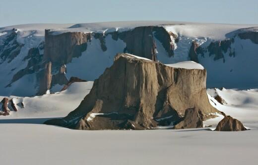 Norske stedsnavn i Antarktis - kan du gjette hva denne heter?