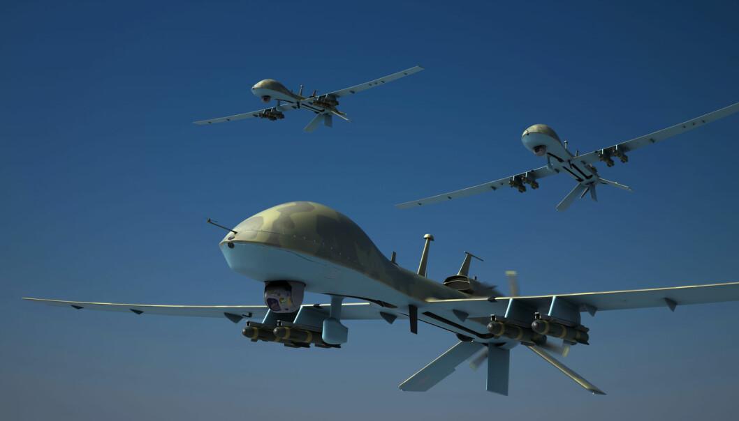 Skal vi la robotene krige for oss?