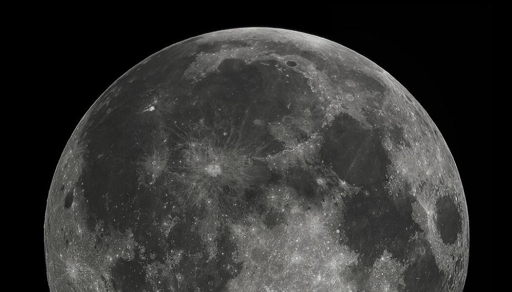 Månen i all sin prakt. (Bilde: Gregory H. Revera/CC BY-SA 3.0)