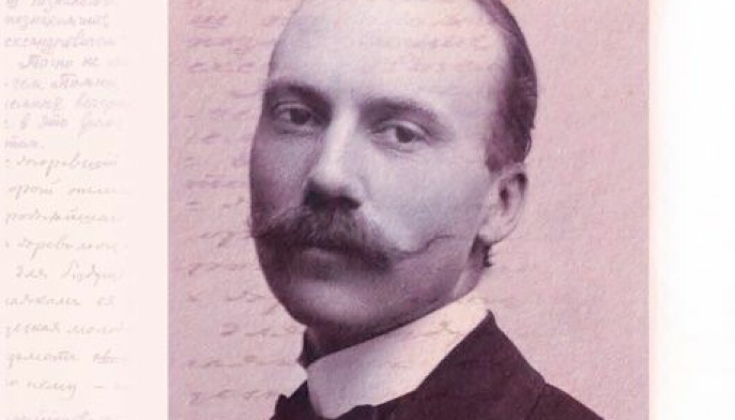 Olaf Broch er den første professoren i slaviske språk i Norge. I fjor var det 150 år siden han ble født. (Foto: Nasjonalbiblioteket)