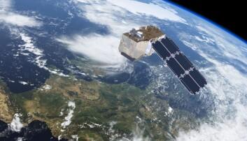 Sentinel-2 ser miljøer på land, vegetasjon, våtmarker og kystsoner spesielt godt. (Illustrasjon: ESA / ATG medialab)