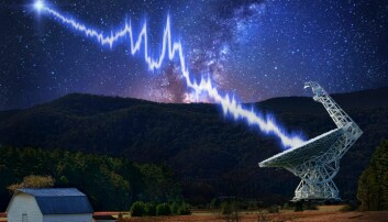 Fant flere radiosignaler fra fjern galakse