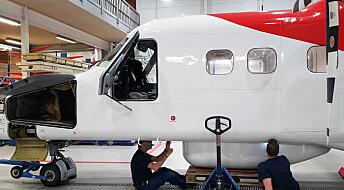 Verdens første passasjerfly for miljøovervåking er norsk