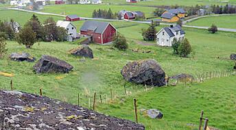 Nye kart gjør det tryggere å bygge hus i Norge