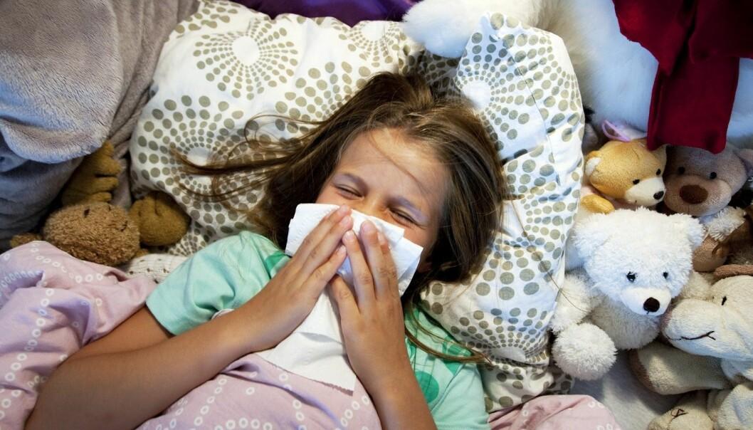 Laboratoriebekreftet influensa har økt markant og er nå på et høyt nivå. Folkehelseinstituttet melder om at det ikke er for sent å vaksinere seg. (Foto: Gorm Kallestad, NTB scanpix)