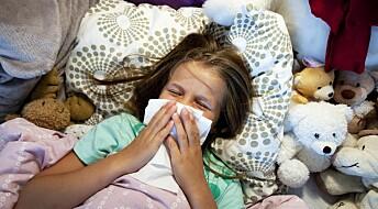 Influensatoppen nærmer seg