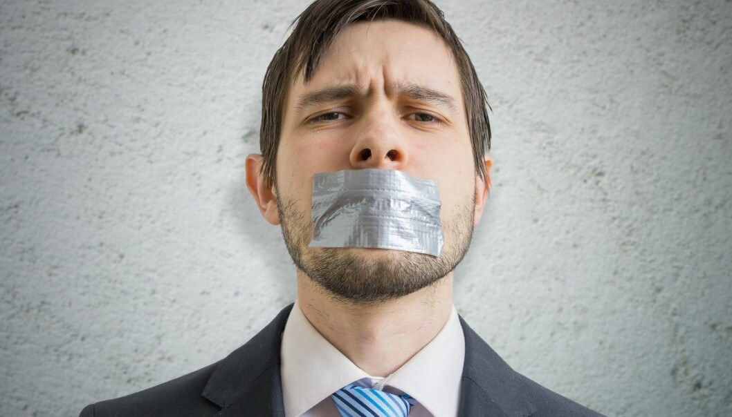 Folk som bruker banneord vil vi gjerne slippe å høre på. Men du kan oftere stole på folk som tar i bruk ord noen risikerer at kan oppleves som krenkende, enn du kan stole på andre.  (Illustrasjonsfoto: vchal / Shutterstock / NTB scanpix)