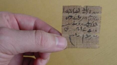 Nye funn i ukjente egyptiske papyrusmanuskripter bb110d22250ae
