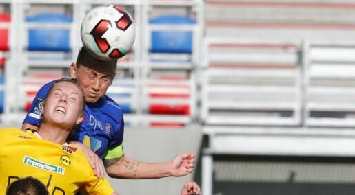 Ny studie: Kvinner mer utsatt for hodeskader når de nikker i fotball