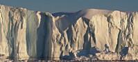Isbreene på Grønland får fart på seg om sommeren