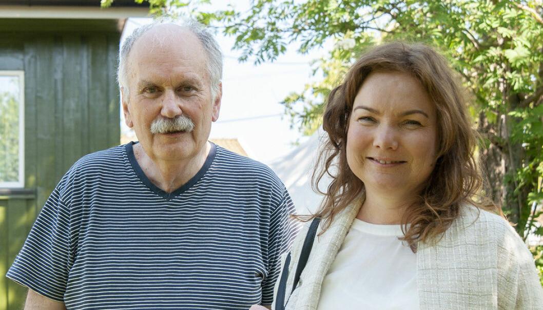 Øistein Kristensen og Anne Opsal er to av forskerne bak den første studien om hvordan det går med rusavhengige etter at de har vært tvangsinnlagt. (Foto: Atle Christiansen / Universitetet i Agder)