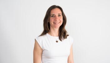 Forsker og prosjektleder Alice Budai i NIBIO. (Foto: Erling Fløistad)
