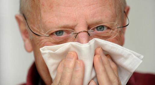 Influensavaksine kan hindre alvorlig sykdom hos eldre