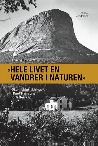 Boka til professor Wærp ble lansert på Hamsunsenteret på Hamarøy under Hamsundagene i august. (Omslag: Orkana akademisk)