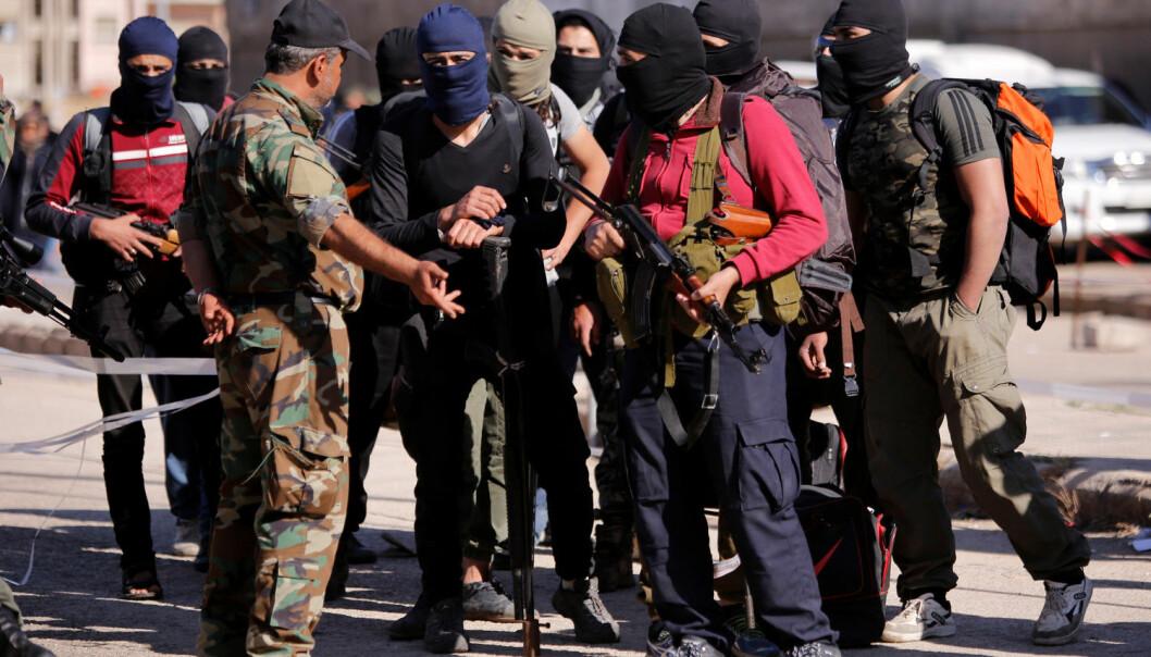 USA har hevdet at støtten til opposisjonen i Syria vil få partene til å snakke sammen. Men den gjør det tvert imot mindre sannsynlig at det blir forhandlinger med regjeringen, ifølge en svensk forsker. (Foto: Omar Sanadiki/Reuters/NTB scanpix)