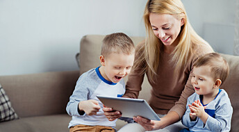 Spilling på nettbrett kan styrke toåringers utvikling