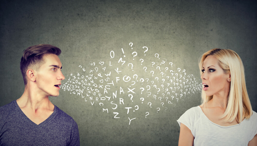 Bokstaver, ord og språk kan miste mening uten språkgenet FoxP2. Men hvordan spredde det seg blant de første snakkende menneskene? (Foto: Pathdoc, Shutterstock/NTB scanpix)