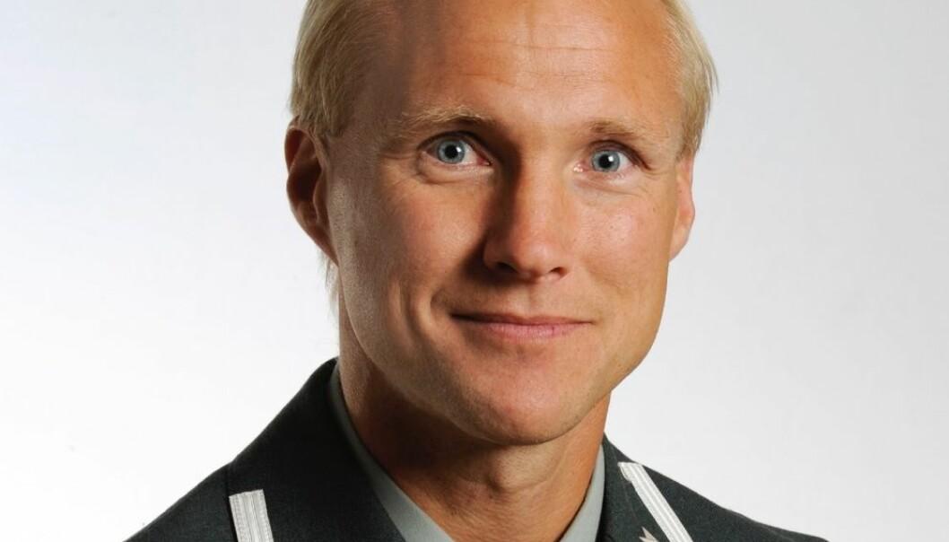 Tormod Heier, forsker ved Forsvarets stabskole, opplever at han har blitt kneblet og refset av folk i Forsvarsdepartementet når han presenterer forskningen sin.  (Foto: Forsvarets høgskole)