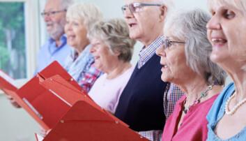 Er korsang bra for helsa? Ja, svarer forskerne som er engasjerte korsangere selv.  (Foto: Shutterstock / NTB scanpix)