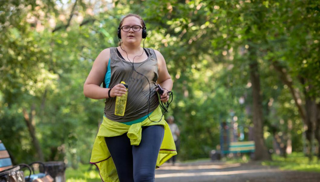 Personer med fedme som trente mye hadde mindre sjanse for å få hjerteflimmer enn de som ikke trente i det hele tatt, ifølge ny studie. (Illustrasjonsfoto: Shutterstock / NTB Scanpix)