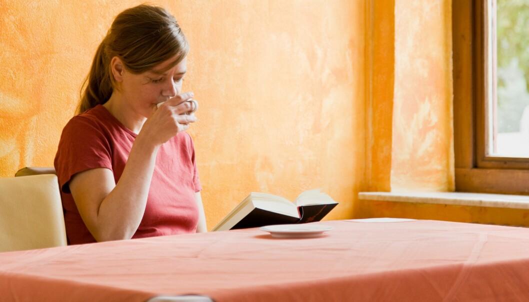 Nordmenn drikker mye kaffe. En ny studie viser at kaffe er en god kilde til jod. (Foto: Colourbox)