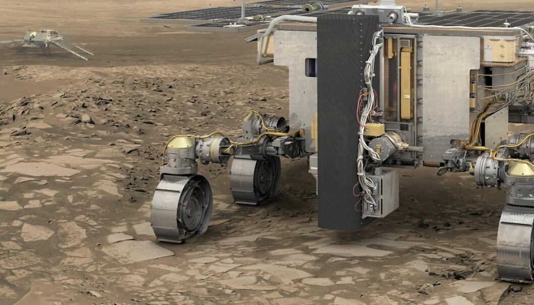 Hva skal den nye Mars-roveren hete?