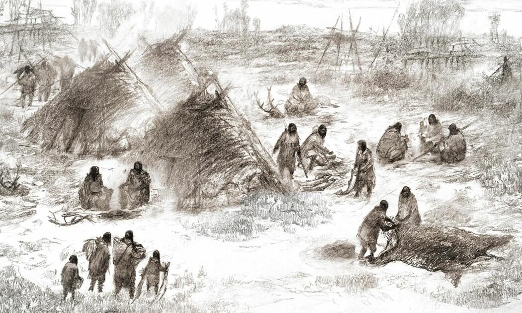 Hvordan kom de første menneskene seg til Amerika?