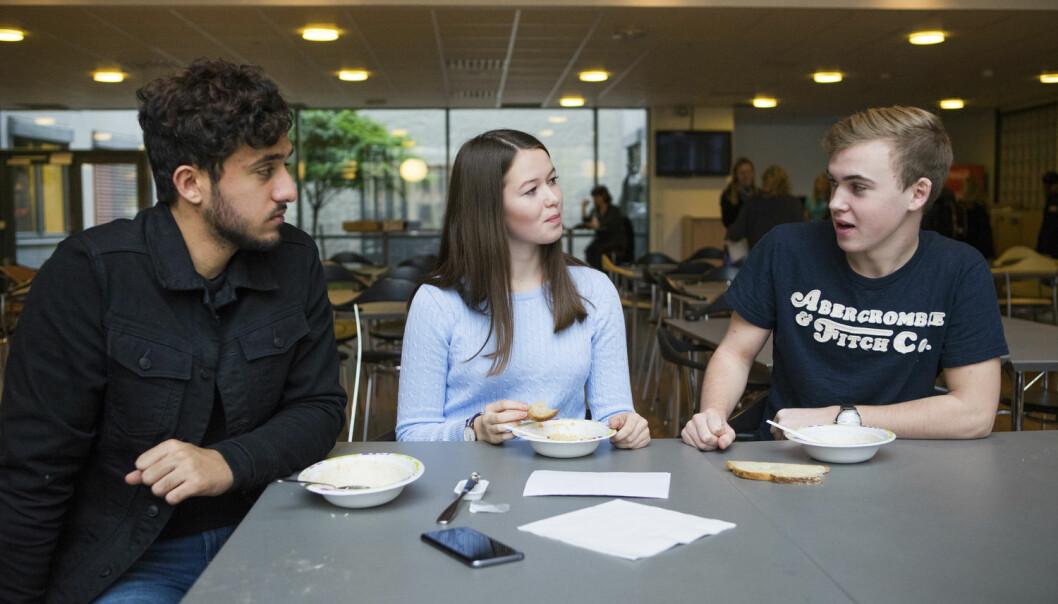 – Det hersker en oppfatning om at ungdomsspråket er lite korrekt, sier Annette Myre Jørgensen ved Høgskolen i Østfold. (Foto: Thomas Brun / NTB scanpix)