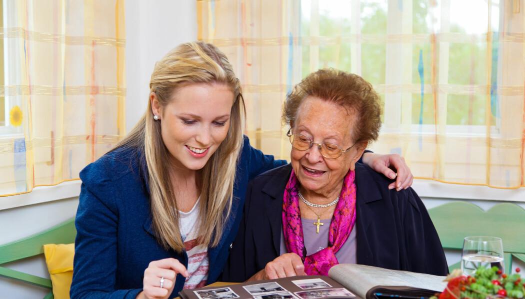 Om bestemor husker den sommerdagen hun ble tatt bilde av i barnevognen, bør du ta det med en klype salt. Mange minner er formet senere. (Foto: Shutterstock)