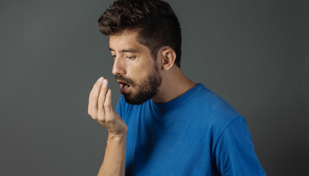 Avsenderen kjenner sjelden sin egen dårlige ånde. (Foto: Shutterstock/NTB scanpix)