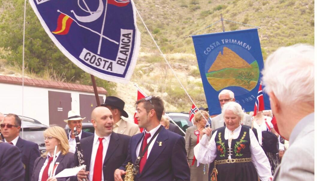 17. mai-feiring i den norske kolonien i Costa Blanca. (Privat)